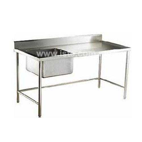 ... Commercial Bowl Sink Table / Stainless Steel Single Bowl Sink Table